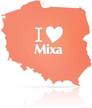 I love Mixa